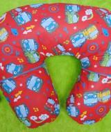 Kado Lahiran Bayi Terbaik Bantal Menyusui atau Nursing Pillow motif little bus tayo