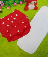 PLUS INSERT clodi cloth diapers popok kain bayi merah anti bocor murmer bagus