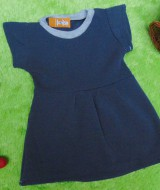 baju bayi perempuan cewek 0-6bulan dress alisa abu 22 lebar dada 24cm bisa melar,panjang 42cm,bahan lembut,bikin dedek bayi tambah cantik