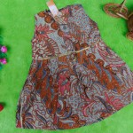 dress baju batik bayi anak perempuan cewek 0-12bulan tali bulat motif lawasan