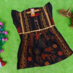 dress baju batik bayi anak perempuan cewek 0-12bulan tali bulat motif sulur-01