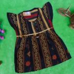dress baju batik bayi anak perempuan cewek 0-12bulan tali bulat motif sulur-03