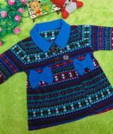 foto utama - jaket bayi blazer baby mantel bayi hangat lembut scandinavian blue 1-2 tahun (2)