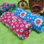 paket hemat 2pcs kain bedong bayi newborn kaos jumbo besar serbaguna 3in1 motif flowers