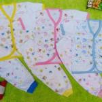 paket hemat 3set setelan baju bayi 0-6bulan baby new born mix warna list