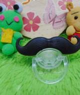Empeng Bayi Kempeng Dot Baby Lucu Bentuk Kumis 32 untuk usia 0-3th, BPA Free,Terbuat dari Bahan Silicon yang aman untuk bayi (2)