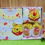FREE KARTU UCAPAN kado bayi lahiran baby gift hadiah box paket karakter winnie the pooh kuning