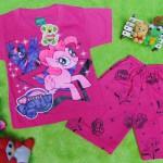 Setelan baju kaos karakter little pony anak bayi perempuan S 0-9bulan
