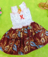 TERLARIS dress baju bayi perempuan cewek 0-12bulan super cute batik-69 Rp 25.000 cocok untuk pesta,ulang tahun,acara formal,kondangan,bikin dedek baby makin imut