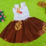 TERLARIS dress baju bayi perempuan cewek 0-12bulan  super cute batik