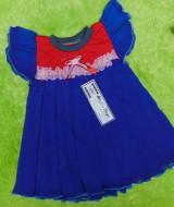 baju pesta dress baju bayi perempuan 1-2tahun merah biru elektrik 30 lebar dada 23cm,panjang ke bawah 45cm,silakan cocokkan dg uk anak krn usia hny estimasi,bikin si kecil tambah cantik