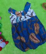 dress baju pesta batik balon yukensi anak bayi perempuan 0-9bulan motif ayu 25 lebar dada 21cm,panjang 41cm,cocok untuk ke pesta,ultah,kondangan