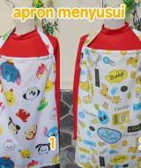 foto utama - kado lahiran bayi baby gift apron menyusui nursing cover breastfeeding celemek menyusu bayi