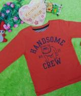 jaket baju hangat sweater anak laki-laki sweatshirt boy toddler 2-3th