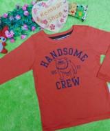 jaket baju hangat sweater anak laki-laki sweatshirt boy toddler 4-5th branded