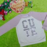 jaket baju hangat sweater batita perempuan toddler girl sweatshirt 2-3th branded place cute blink 67,lucu n lembut bgt,lebar dada 31 panjang 36,bikin si kecil makin cute