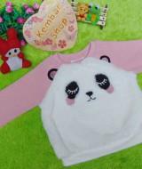 jaket baju hangat sweater bayi newborn perempuan baby girl sweatshirt 1-2th