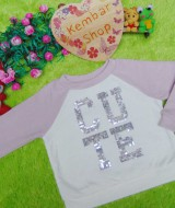 jaket baju hangat sweater bayi newborn perempuan baby girl sweatshirt 12-18bln branded place cute blink 61,lucu n lembut bgt,lebar dada 29 panjang 30,bikin si kecil makin cute