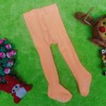 kado bayi celana panjang bayi rajut legging cotton rich lembut baby 6-12bulan anti slip polos soft orange
