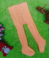 kado bayi celana panjang bayi rajut legging cotton rich lembut baby 6-12bulan anti slip polos soft orange