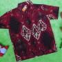 kemeja batik anak balita 2-4tahun motif merah sae 33 lebar dada 36cm,panjang ke bawah 44cm,cocok untuk ke kondangan, acara formal, dll;silakan cocokkan ukuran kemeja dengan ukuran anak