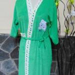 kimono handuk jubah mandi remaja dewasa fit to L beruang hijau