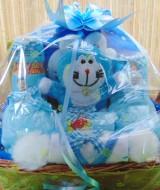 paket kado bayi baby gift parcel bayi parcel kado bayi kado lahiran doraemon biru