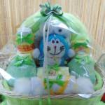 paket kado bayi baby gift parcel bayi parcel kado bayi kado lahiran doraemon hijau