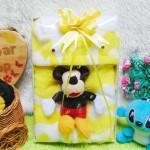 FREE KARTU UCAPAN paket kado lahiran bayi baby gift set box jaket plus boneka motif doreng kuning