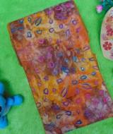 Stagen pelangsing perut korset bengkung modern bengkung katun 15m bengkung belly binding bengkung andien batik cap kuning kecoklatan