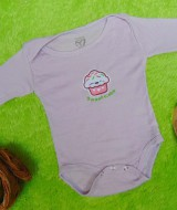 TERLARIS jumper carter ecer lengan panjang bayi cewek perempuan 6 bulan motif sweet cake 25 bahan kaos lembut nyaman adem menyerap keringat bayi