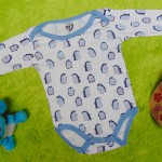 TERLARIS jumper carter ecer lengan panjang bayi cowok laki-laki 9bulan motif penguin 25 bahan kaos lembut nyaman adem menyerap keringat bayi