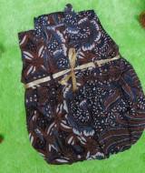 dress baju pesta batik balon yukensi anak bayi perempuan 0-9bulan motif lawasan