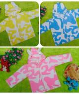 foto utama - Baju Jaket Bayi Newborn 0-12bulan Doreng Mantel Hangat Murah