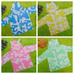 Baju Jaket Bayi Newborn 0-12bulan Doreng Mantel Hangat Murah