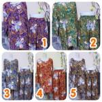 Baju Santai Setelan Piyama Babydoll Batik CPLP Jumbo Motif Bali Busui Friendly Kualitas Juara