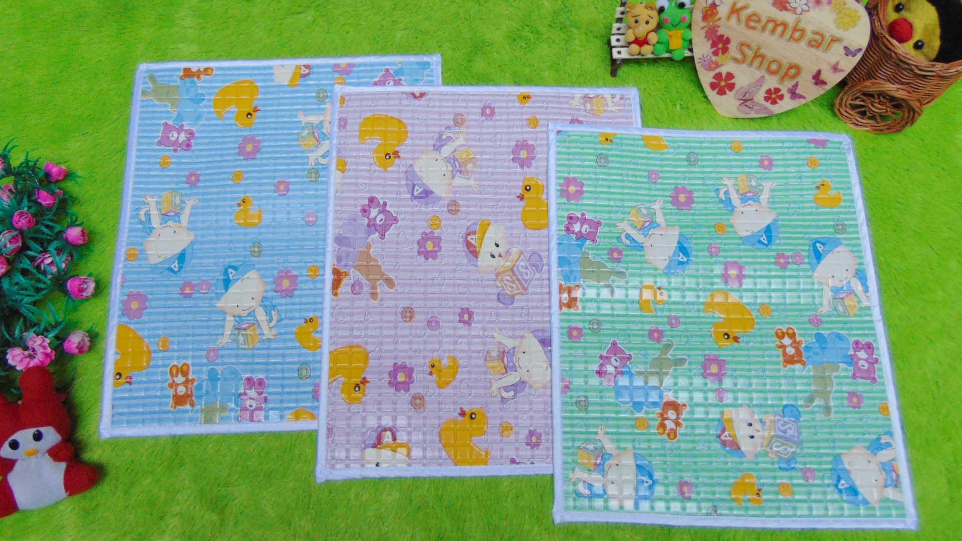 foto utama Perlak Gendong Bayi Portable Alas Ompol Baby motif baby aneka warna