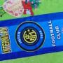 handuk bola Intermilan Inter Milan uk kecil Rp 22.000 bahan lembut,ukuran 76X34cm,cocok untuk penggemar tim bola Inter Milan