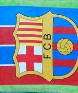 handuk bola jumbo FCB Barcelona Barca 52 ukuran 140cmx71cm,bahan lembut cocok banget untuk penggemar bola