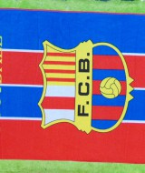 handuk bola jumbo FCB Barcelona Barca Spain 52 ukuran 140cmx71cm,bahan lembut cocok banget untuk penggemar bola