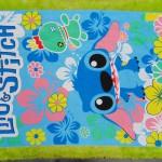 handuk mandi karakter karakter JUMBO SUPER BESAR motif lilo n stitch 55 ukuran 140x 71cm; bahan lembut LIMITED EDITION