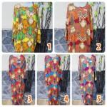baju tidur santai batik longdress jumbo cantik daster lengan panjang wanita longdres baladewa motif Batik