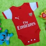 jumper bola bayi anak cowok laki-laki newborn 0-9bulan klub arsenal