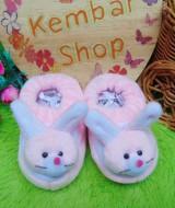 kado bayi baby gift set sepatu prewalker alas kaki newborn 0-6bulan lembut motif kelinci soft pink (3)