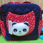 kado lahiran bayi baby gift tas perlengkapan bayi panda lucu navy polka