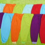super hemat set 12pcs celana panjang anak balita 2-5tahun all size RAINBOW warna random
