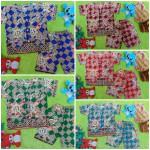 Setelan Baju Tidur Piyama Batik Bayi size O 0-6bln motif Geometri Sulur