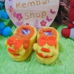 kado bayi baby gift set sepatu prewalker alas kaki newborn 0-6bulan lembut motif ayam imut