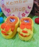 FOTO UTAMA kado bayi baby gift set sepatu prewalker alas kaki newborn 0-6bulan lembut motif ayam imut