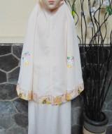 Foto Utama FREE Pouch Tas Mukena Anak 5-7thn Motif Karakter Hello Kitty Kuning
